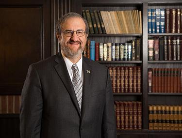 Mark S. Schlissel, M.D., Ph.D., 14th President of the University