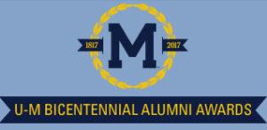 U-M Bicentennial Awards banner