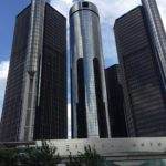 We took a tour of the Detroit Renaissance Center and enjoyed the view of the riverfront from the top.