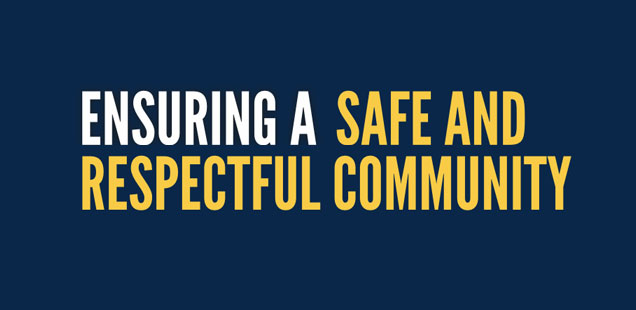 Ensuring a Safe and Respectful Community
