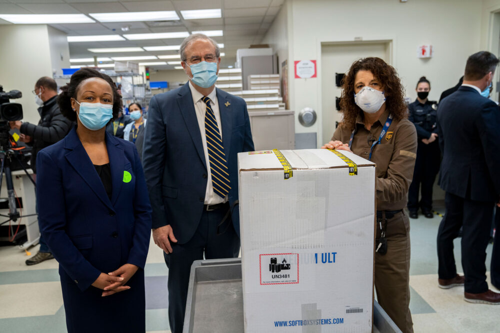 COVID-19 vaccine arrives at U-M